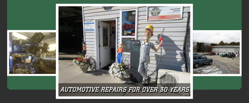 Automotive Repairs for Over 30 Years - front of store